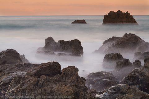 Red Rocks at New Zealand by Arindam Bhattacharya AB-8945