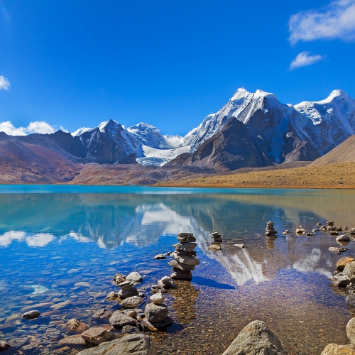 gurudongmar lake north sikkim himalaya by arindam bhattacharya