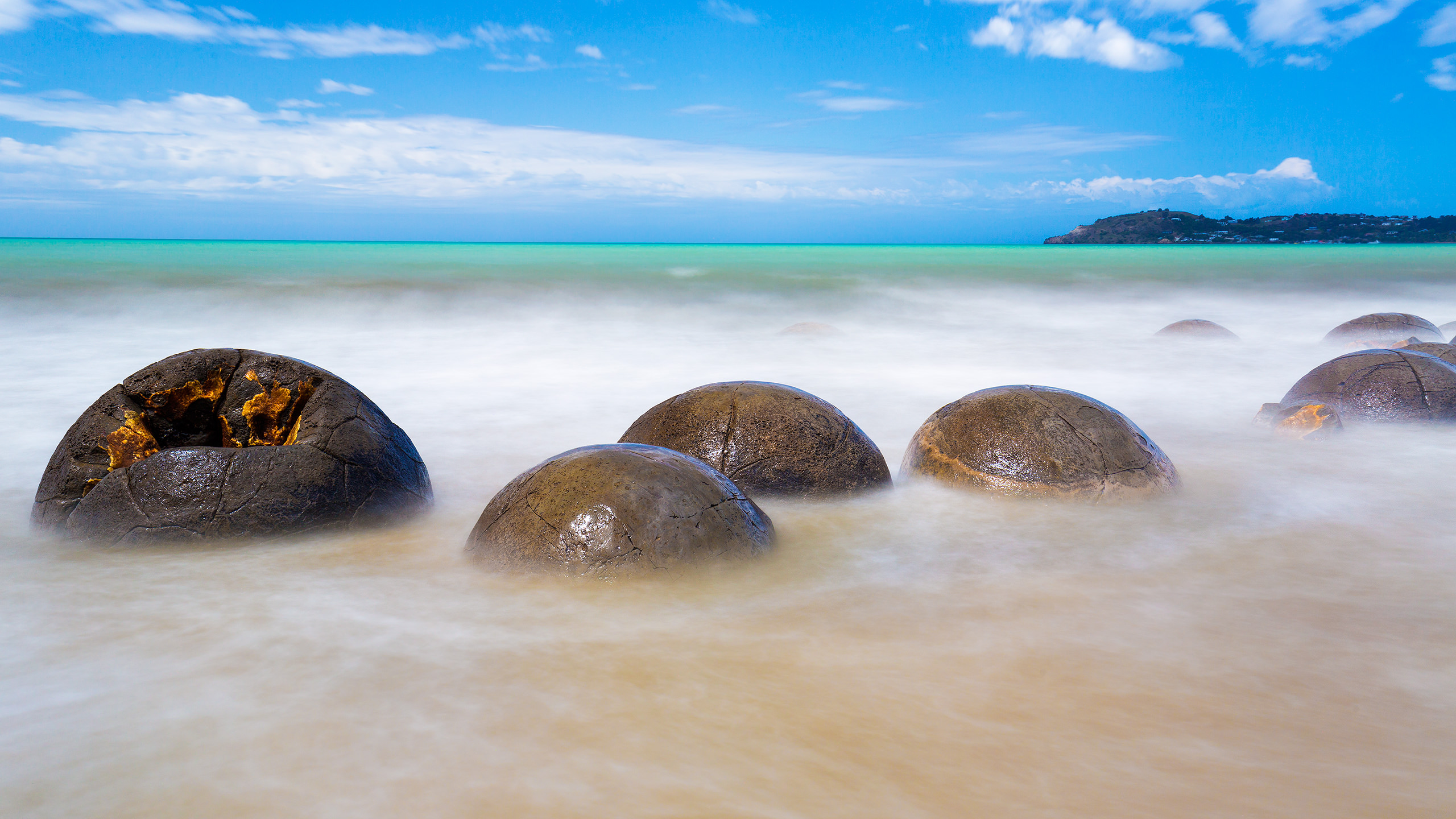 Moeraki Boulder New Zealand by Arindam Bhattacharya