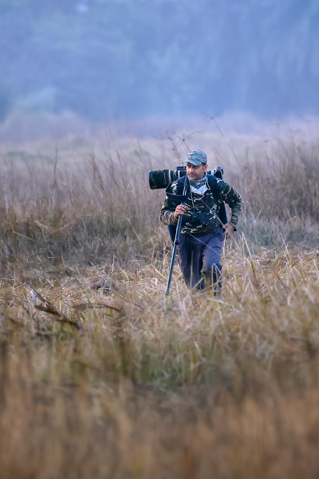 Arindam Bhattacharya Indian wildlife photographer
